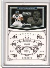 Buy 2011 Playoff National Treasures Century Silver #45 Knowshon Moreno /25 Broncos