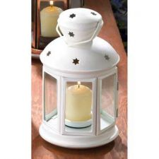 Buy White Colonial Candle Lamp