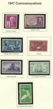 Buy 1947: Commemorative Mint Stamps! Thomas Edison, Pulitzer & More - 65 yrs old!