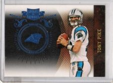 Buy 2010 Plates and Patches Tony Pike Short Printed /10 Cincinnati Panthers 1/1 RARE