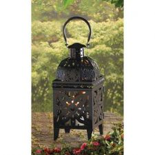 Buy Black Medallion Lantern