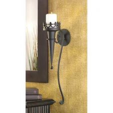 Buy Set of 2 Gothic Candle Sconces