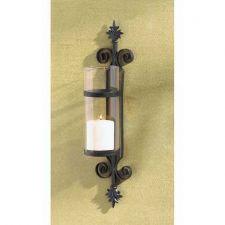 Buy Set of 2 Fleur De Les Cylinder Candleholders