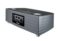 Buy iHome - Bluetooth Stereo FM Clock Radio - Metallic Silver