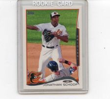 Buy 2014 TOPPS JONATHAN SCHOOP ROOKIE CARD BALTIMORE ORIOLES CANT MISS FUTURE STAR