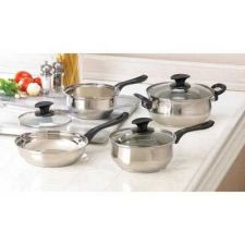 Buy Stainless Steel Cookware Set