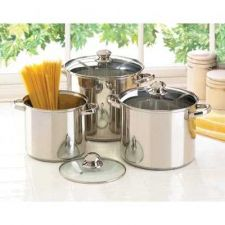 Buy Stainless Steel Stock Pot Set