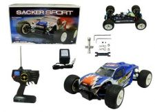 Buy 1:18 RC Electric 4X4 Sacker Sport Truggy RED