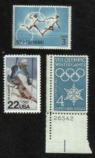 Buy 3 MNH Unused Olympic Stamps San Marino 3Lire US 1960 4C & 1988 22C WinterOlympic