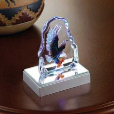 Buy Eagle Crystal Sculpture