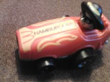 "Buy McDonald's Vintage 1984 Hamburglar in Mini Red Racer Car 2"" Plastic"