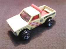 Buy Hot Wheels Lifeguard Rescus Unit 2 Pickup Truck, dated 1982