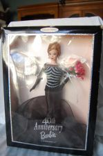 Buy 40th Anniversary Barbie w/ small Barbie's Barbie in box..