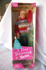 "Buy 1998 ""Ugly Sweater"" Tree Trimming Barbie"