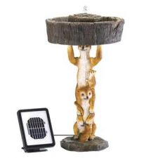 Buy Playful Meerkat Solar Fountain