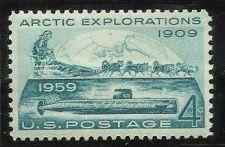 Buy US 4 Cent 1959 Artic Explorations Stamp Scott #1128 - MNH