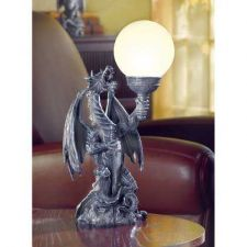 Buy Dragon with Globe Table Lamp