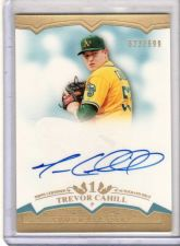 Buy 2011 Topps Tier One Trevor Cahill Crowd Pleasers Auto SP /699 Diamondbacks A's