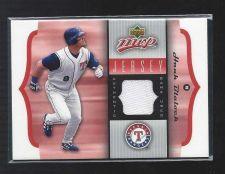 Buy 2005 Upper Deck MVP Hank Blalock Game Used Jersey Relic Rangers