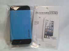 Buy Iphone Slim Case in Blue for iphone 5/5s with Professional ScreenGuard Dry apply