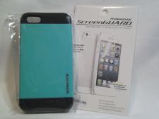 Buy Iphone Slim Case in Teal/seafoam for iphone 5/5s with Professional ScreenGuard