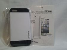 Buy Iphone Slim Case, White for iphone 5/5s with Professional ScreenGuard Dry Apply