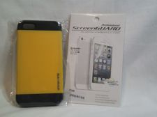 Buy Iphone Slim Case, Yellow for iphone 5/5s with Professional ScreenGuard Dry apply