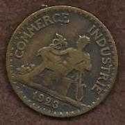 Buy France 50 Centimes 1923 Coin Mercury Seated Commerce - Scarce!