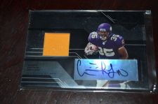Buy 2005 Leaf Limited Phenoms Ciatrick Fason RC Auto Jersey SP /100 Vikings Jaguars
