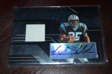 Buy 2005 Leaf Limited Phenom Eric Shelton RC Auto Jersey SP /100 Panthers Louisville