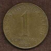 Buy Austria Coin 1-Schilling Aluminum-Bronze 1981