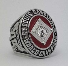 Buy 1964 St Louis Cardinals MLB Baseball Championship Ring size 11 US Player GIBSON