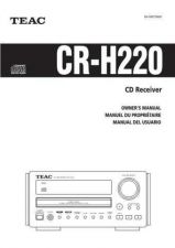 Buy Teac CR-H220(EFS)TCA Service Manual by download Mauritron #223628