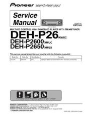 Buy Pioneer C3169 Manual by download Mauritron #227522