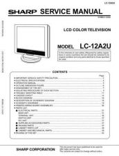 Buy Sharp LC13 15C3US Service Manual by download Mauritron #209783