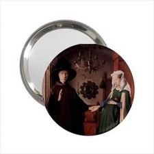 Buy Arnolfini Wedding Jan Van Eyck Art Handbag Purse Mini Mirror