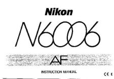 Buy NIKON N6006 Instruction Manual by download Mauritron #266084