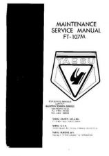 Buy YAESU FT107M SERVICE MANUAL by download #110018