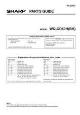 Buy Sharp. WQCD60H_SM_GB-DE-FR(1) Service Manual by download Mauritron #211830