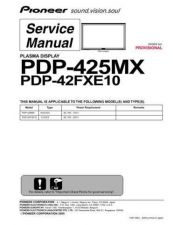 Buy Pioneer PDP-42FXE10 Manual by download Mauritron #227665