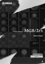 Buy Yamaha MG8 2FXF Operating Guide by download Mauritron #248719
