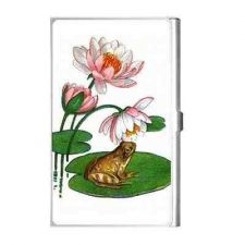 Buy Frog Lilypad Vintage Style Art Business Credit Card Case
