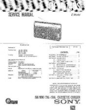 Buy Sony CFM-145TV Service Manual by download Mauritron #238881