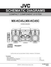 Buy JVC MX-KC45J Service Manual. On by download Mauritron #272058