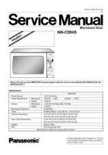 Buy Panasonic PHAMOS0705032C1 Service Manual by download Mauritron #268303