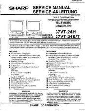 Buy Sharp 37VT24-SERIAL -DE(1) Service Manual by download Mauritron #207820
