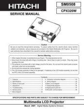 Buy Hitachi 0508E Manual by download Mauritron #224987