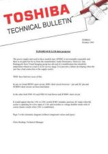Buy TOSHIBA CDH68A Technical Information by download #116216