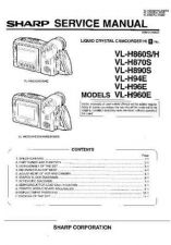 Buy Sharp VLH860U Service Manual by download Mauritron #210953
