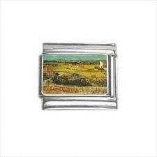Buy Van Gogh Harvest Art 9mm Italian Charm
